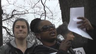 Women Of Colour In The Global Women's Strike On The 1000 Mother's March For Justice