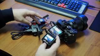 Передатчик видео TX 5D,FPV монитор для съемки с нескольких камер