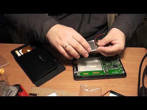 как зарядить долго лежавший планшет
