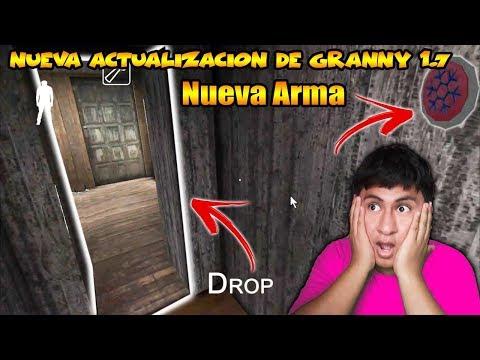 NUEVA ARMA DE HIELO EN GRANNY 1.7|Granny