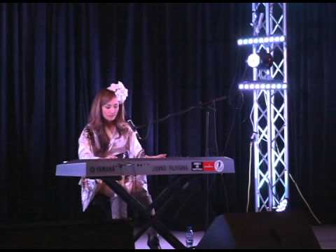 "Evangelion OP ""A Cruel Angel's Thesis"" covered by JUNKO FUJIYAMA @ IKKiCON 2013"