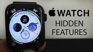 Apple Watch Series 4 Hidden Features — Top 10 List