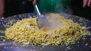 FAMOUS EGG PULAO/EGG FRIED RICE of Jyoti Omelette Center   Egg Street Food In India