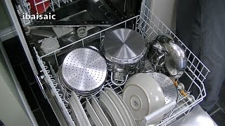Miele G4203 SC Active Dishwasher Review & Demonstration