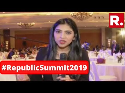 Watch Republic TV's Special Report From The Republic Summit Venue Ahead Of Day 2