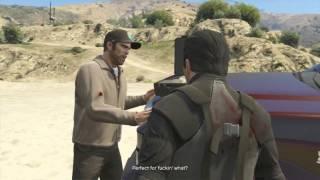 Grand Theft Auto 5 Walkthrough Part 110 - FREE MONEY? | GTA 5 Walkthrough