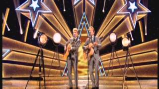 Stars in their Eyes 2015 - Hayley & Gerry Judge as The Everly Brothers