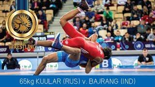 Gambar cover GOLD FS - 65 kg: N. KUULAR (RUS) df. B. BAJRANG (IND) by VSU1, 17-6