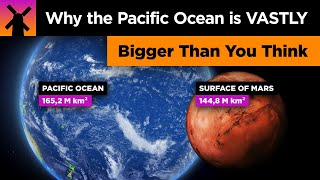 The Pacific Ocean is VASTLY Bigger Than You Think thumbnail