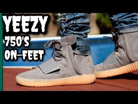 4abf9638598 Grey gum yeezy 750 s on-feet review