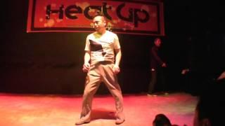 TAKA(from新潟KAGETORA)&RYOSUKE(Funk Satisfaction) / HEAT UP vol.35 DANCE SHOWCASE
