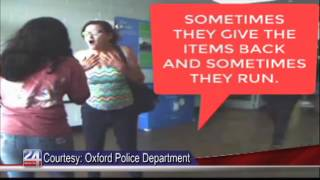 Oxford Police Seeking Theft Suspect Identity