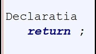 JavaScript Ro Lectia 17 Tutorial- Declaratia Return