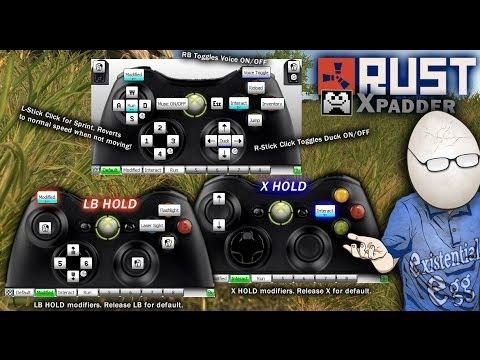 Steam Community :: Video :: Rust 360 Controller Xpadder ...