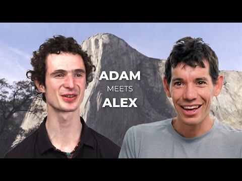 Adam Ondra and Alex Honnold talk