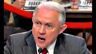 Jeff Sessions HEATED response to Ron Wyden