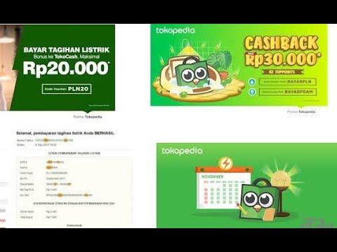 Cara Bayar Listrik PLN Bulanan Postpaid di Tokopedia Versi Android