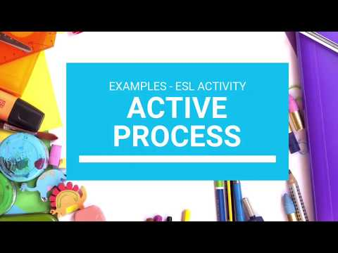 Learning - Active process of effective learning. 