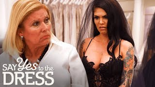 Cami Li Wants A Dress Thats As Black As Her Soul | Say Yes To The Dress