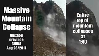 Massive Mountain Collapse