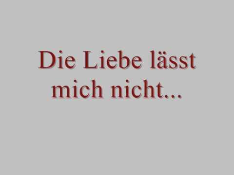 Música Die Liebe Lässt Mich Nicht