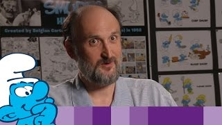 Meet Patrick Mate • Character Designer of the upcoming Smurfs film • Smerfy