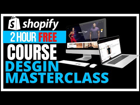 FREE Shopify Course 2021   Build A Professional Shopify Store From A-Z     Complete Shopify Tutorial