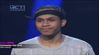 KEVIN, Cukup Tau (Rizky Febian) Showcase 2 Indonesian Idol 2018
