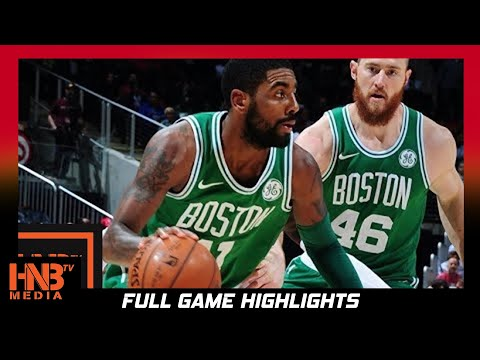 Boston Celtics vs Atlanta Hawks Full Game Highlights / Week 4 / 2017 NBA Season