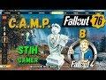 Fallout 76 C.A.M.P. в Fallout 4 Передвижная Мастерская - Строй где Угодно