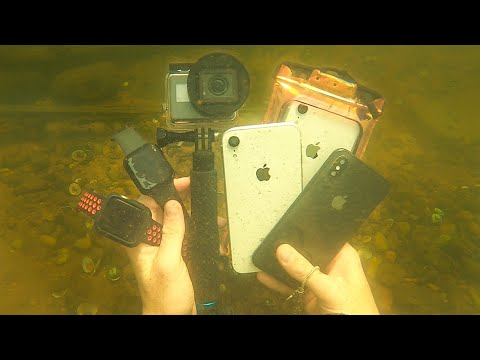 I Found a GoPro, 2 Apple Watches and 3 iPhones in the River!