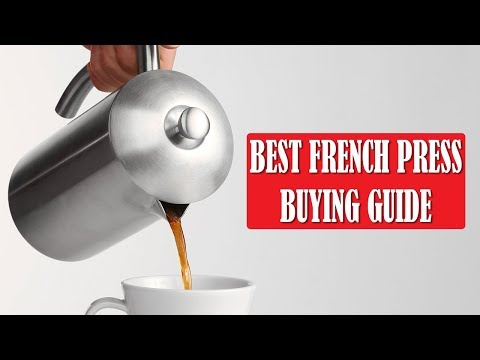Best French Press Coffee Maker - Buying Guide