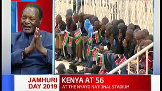 KENYA AT 56: Kenya marks 56th Jamhuri day at Nyayo national stadium