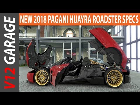 TOP CAR !! 2018 Pagani Huayra Roadster Specs And Review