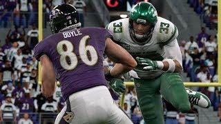 NFL Thursday 12/12 Baltimore Ravens vs New York Jets Full Game | NFL Week 16 (Madden)