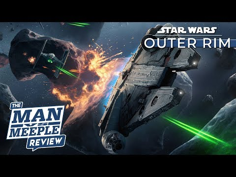 Star Wars: Outer Rim Review by Man Vs Meeple (Fantasy Flight Games)