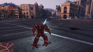 GTA 5 Mods #5 - Siêu đại chiến Mini Hulkbuster vs Abomination