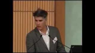 """Alejandro Aravena: """"Uncommon sense and the Economy of Sustainable Construction"""" - Holcim Forum 2013"""