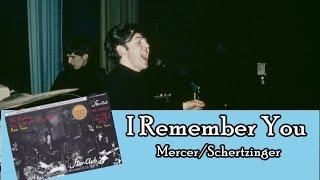 The Beatles - I Remember You (Lyrics)