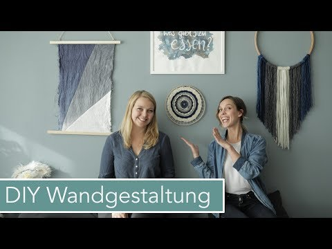 4 Wand Dekorations DIYs mit Jelena | Wandgestaltung