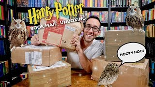 UNBOXING NEW HARRY POTTER BOOKS! SO MANY BEAUTIFUL BOOKS!