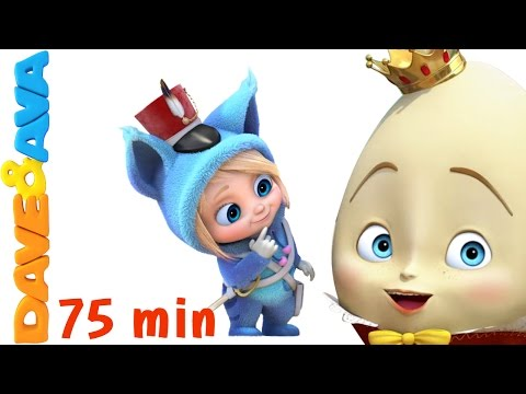 🏵 Nursery Rhymes Collection | Nursery Rhymes and Baby Songs from Dave and Ava 🏵