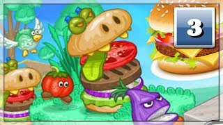 Ratunku! Hamburger Idzie w Tym Kierunku! Darmowe Gry Online: Papa Louie 2 | #3