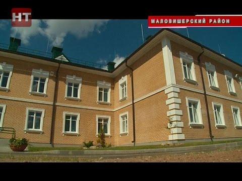 В деревне Подгорное состоялась торжественная передача нового корпуса психоневрологическому интернату \Оксочи\