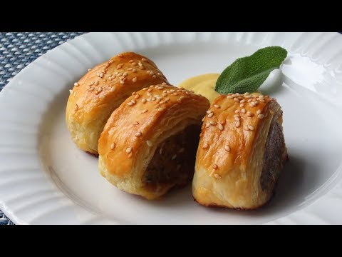 Sausage Rolls Recipe – How to Make Sausage Rolls