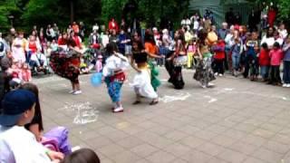 romské tance na Dni dětí 2010