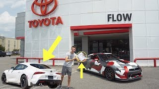 I BOUGHT A 2020 Toyota GR Supra!!! *EMOTIONAL*