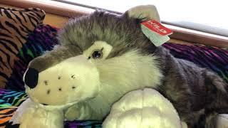 Wild Republic Jumbo Wolf Review