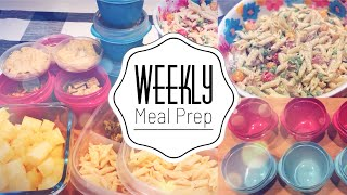 WEEKLY MEAL PREP   SNACKS   LUNCHES