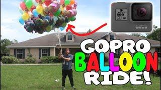 I SENT MY GOPRO ON A BALLOON RIDE (3000 FEET!)